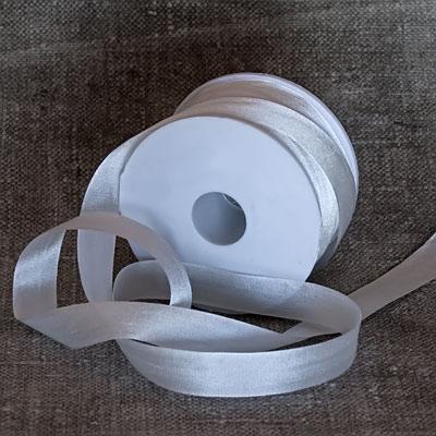 13 mm ofärgade sidenband